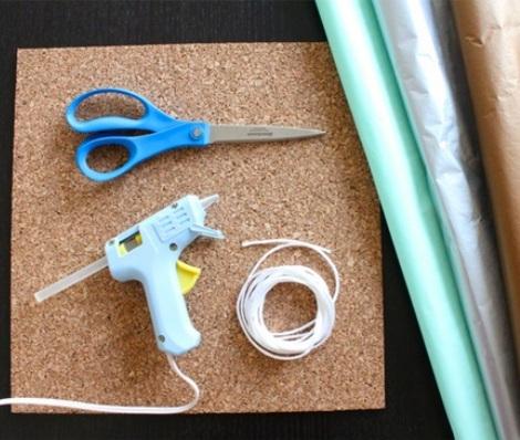 como hacer una guirnalda instrumentos