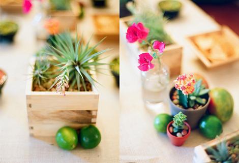 Decoración mesa mexicana