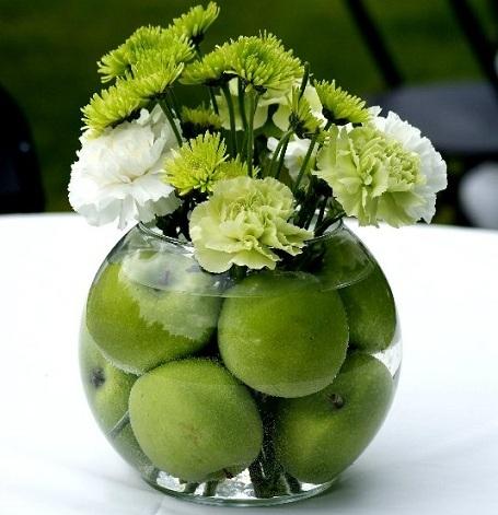 5 ideas centros de mesa flores
