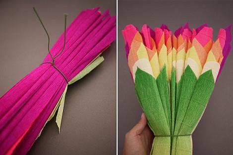 Crepe flores