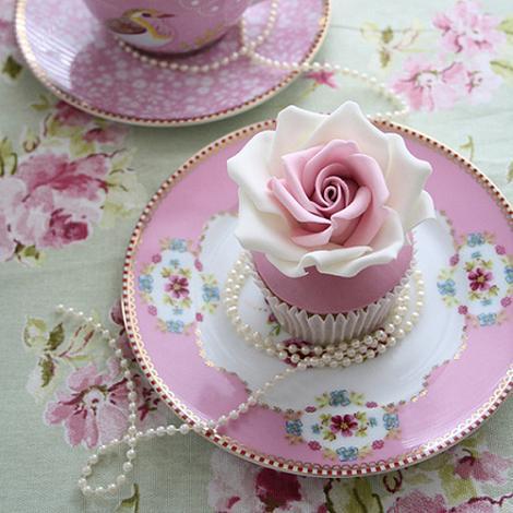 Cupcakes té