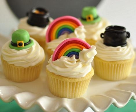 fiesta san patricio cupcakes