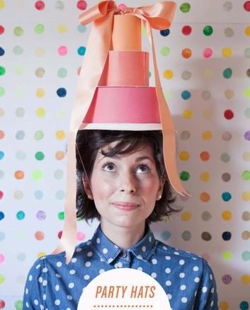 fiesta sombreros pastel