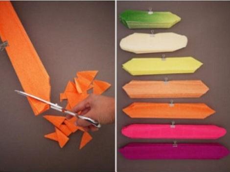 flores de papel pinocho cortar