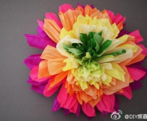 flores de papel pinocho resultado