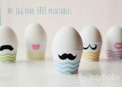 huevos de pascua bigote