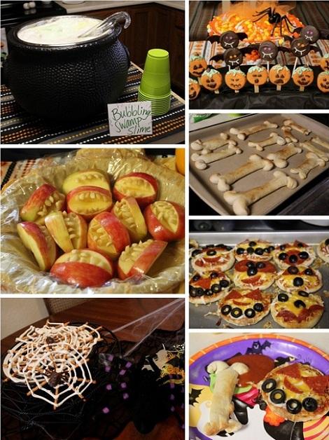 ideas fiesta halloween comida terrorifica