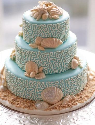 ideas fiesta playa tarta