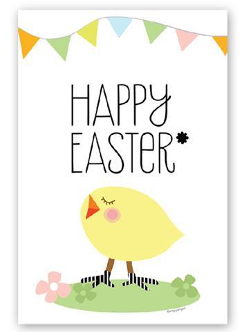 Tarjeta Pascua imprimir