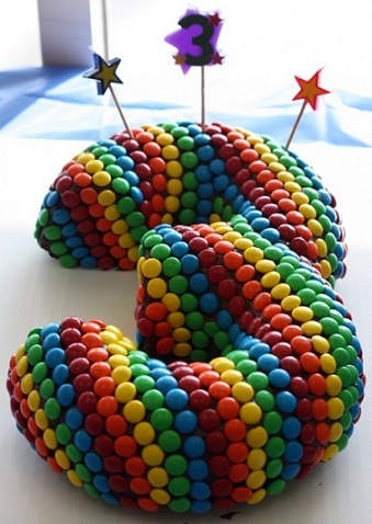 tartas formas numeros