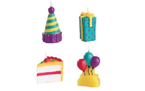 velas cumpleaños cupcake