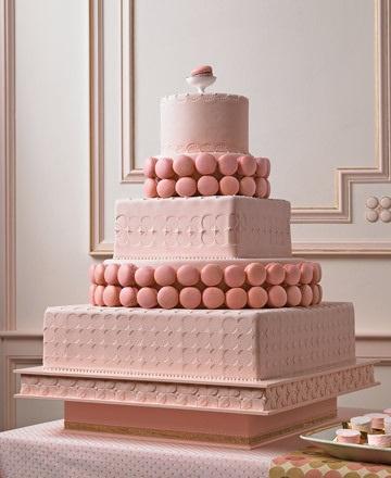 6 tartas boda rosa