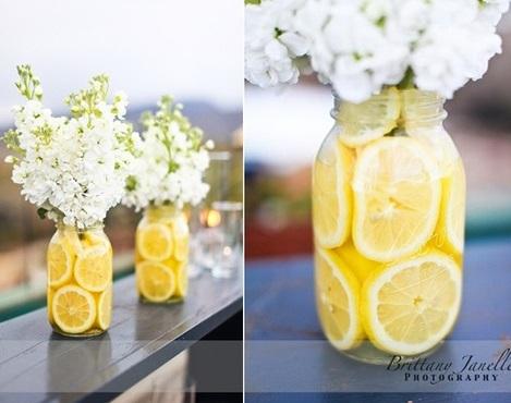 centros de mesa originales fruta
