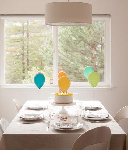 decoracion mesa globos resultado