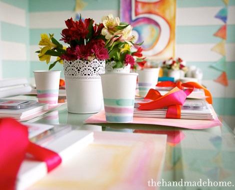 fiesta de colores platos