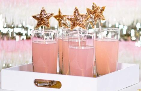 ideas fiesta fin de año bebidas