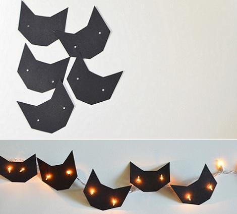 luces fiesta originales gatos