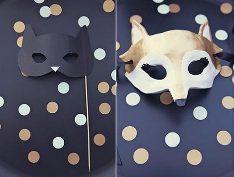 Máscaras de fiesta