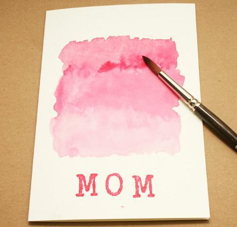 Tarjeta casera Día de la Madre