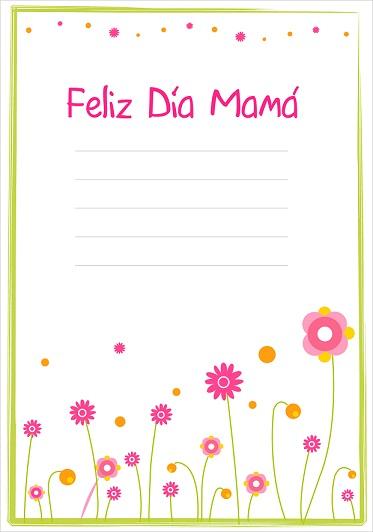 tarjetas dia de la madre imprimir
