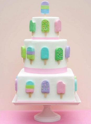 tartas cumpleanos originales helados