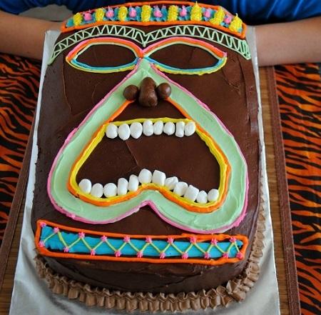 tartas originales tribal