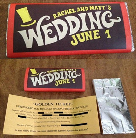 5 invitaciones boda originales charlie