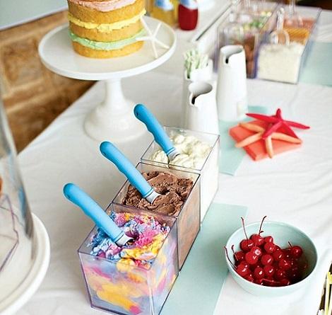 fiesta helado verano helados