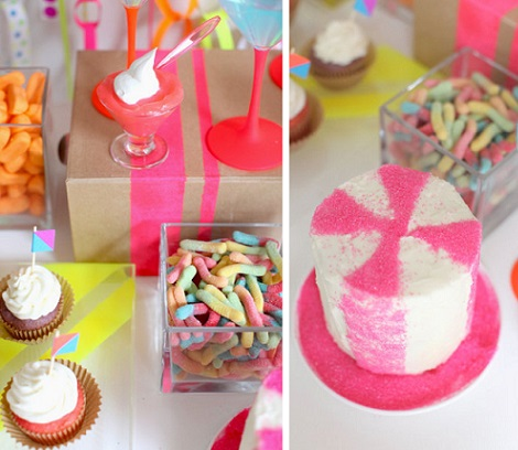 fiesta neon dulces