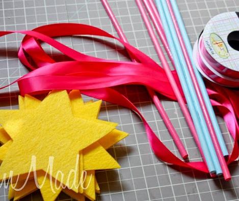 hacer varitas magicas materiales