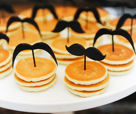 ideas baby shower mustache tortitas