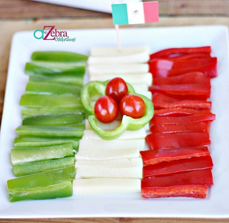 ideas fiesta mexicana casa pimientos