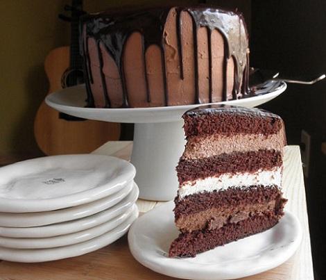 ideas tartas chocolate cumpleanos nata