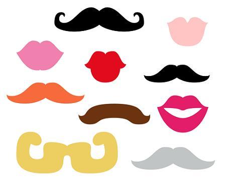 Imprimir bigotes