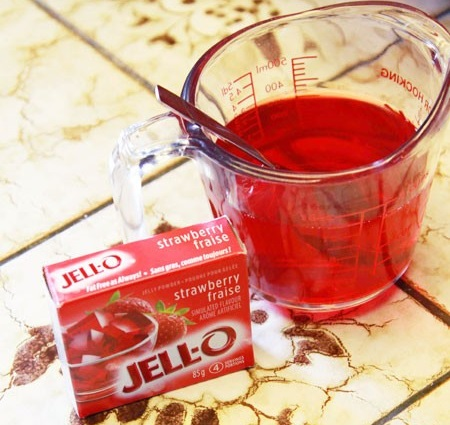 postre frio vasos gelatina