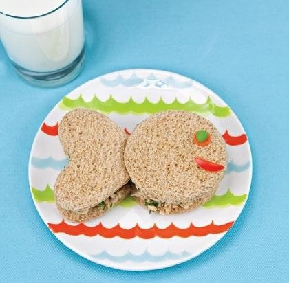 sandwiches formas fiestas animales