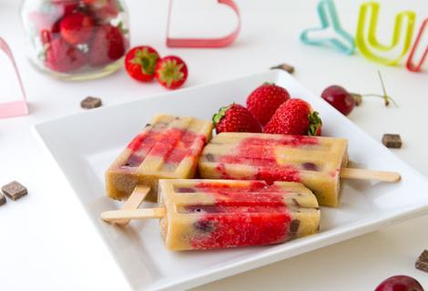 como hacer helados y polos caseros de frutas