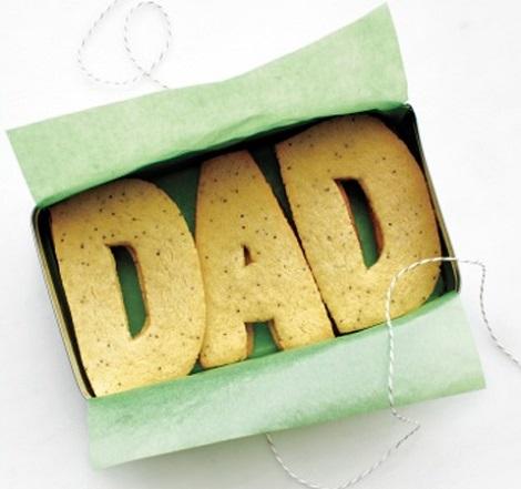 manualidades faciles dia del padre galletas