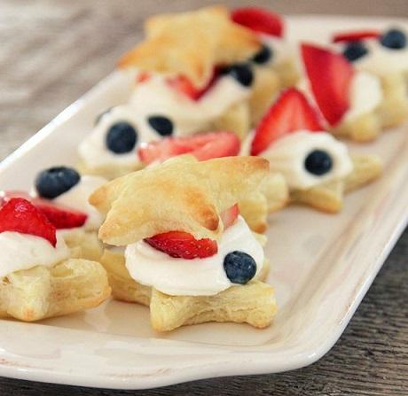 postres rapidos fiestas pasteles hojaldre fruta resultado