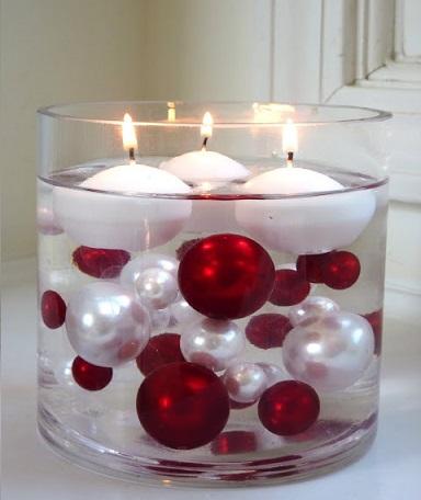 centros de mesa fáciles decorar navidad