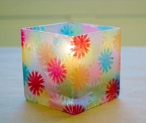 decorar vasos velas resultado