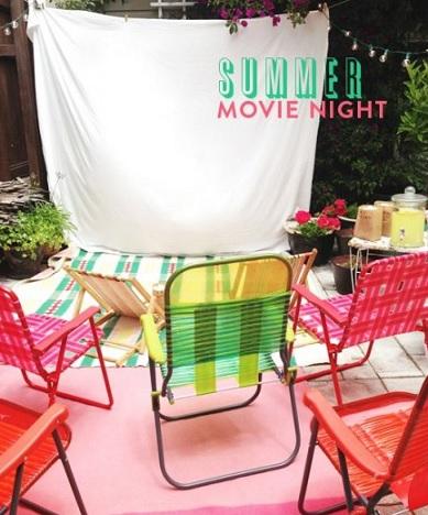 fiestas tematicas verano cine