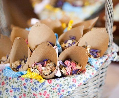 ideas boda rustica perfecta flores