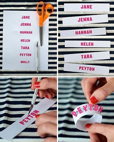 servilleteros personalizados nombres
