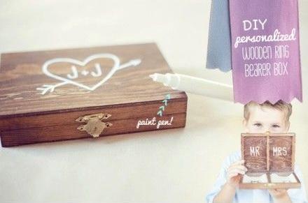caja madera personalizada arras boda