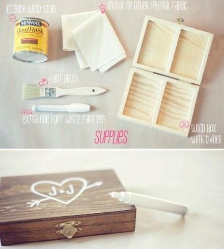 caja madera personalizada arras materiales