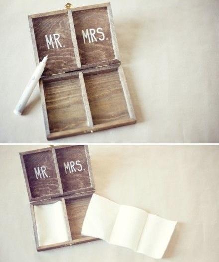 caja madera personalizada arras proceso