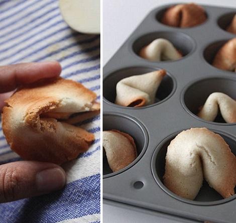 cómo hacer galletas suerte resultado