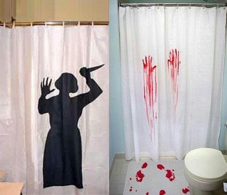 ideas decoracion halloween casera cortinas
