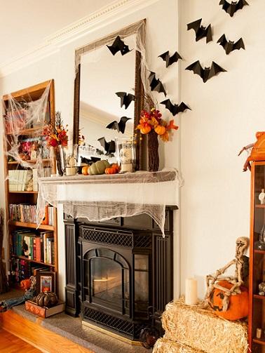 ideas decoracion halloween casera paredes